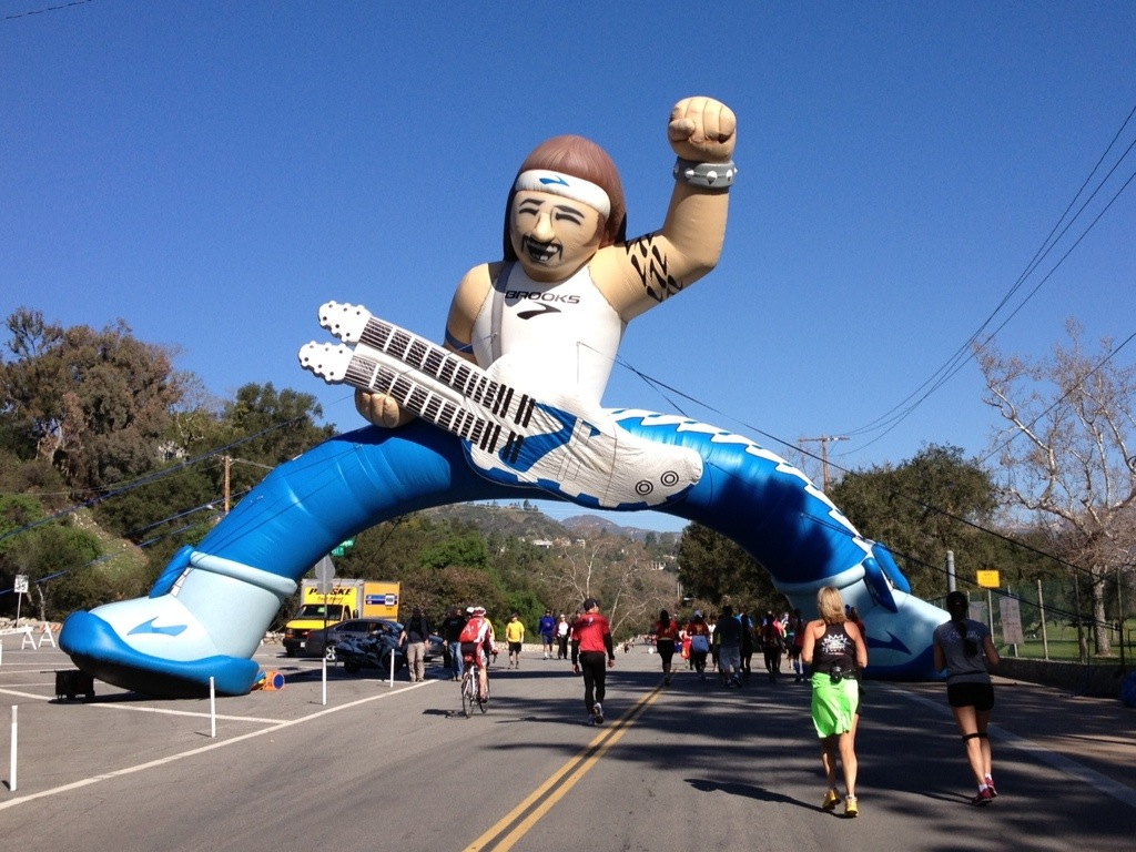 Awesome rock 'n roll balloon dude.